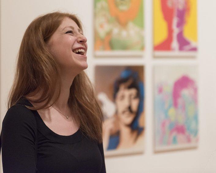 MOMA Smiling Redhead Fab Four