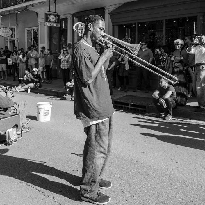 Trombone Player French Quarter