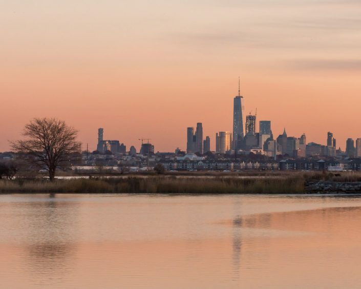 Lower Manhattan Skyline from the Meadowlands