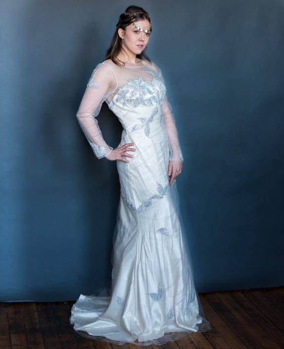 Liz Model Wedding Gown