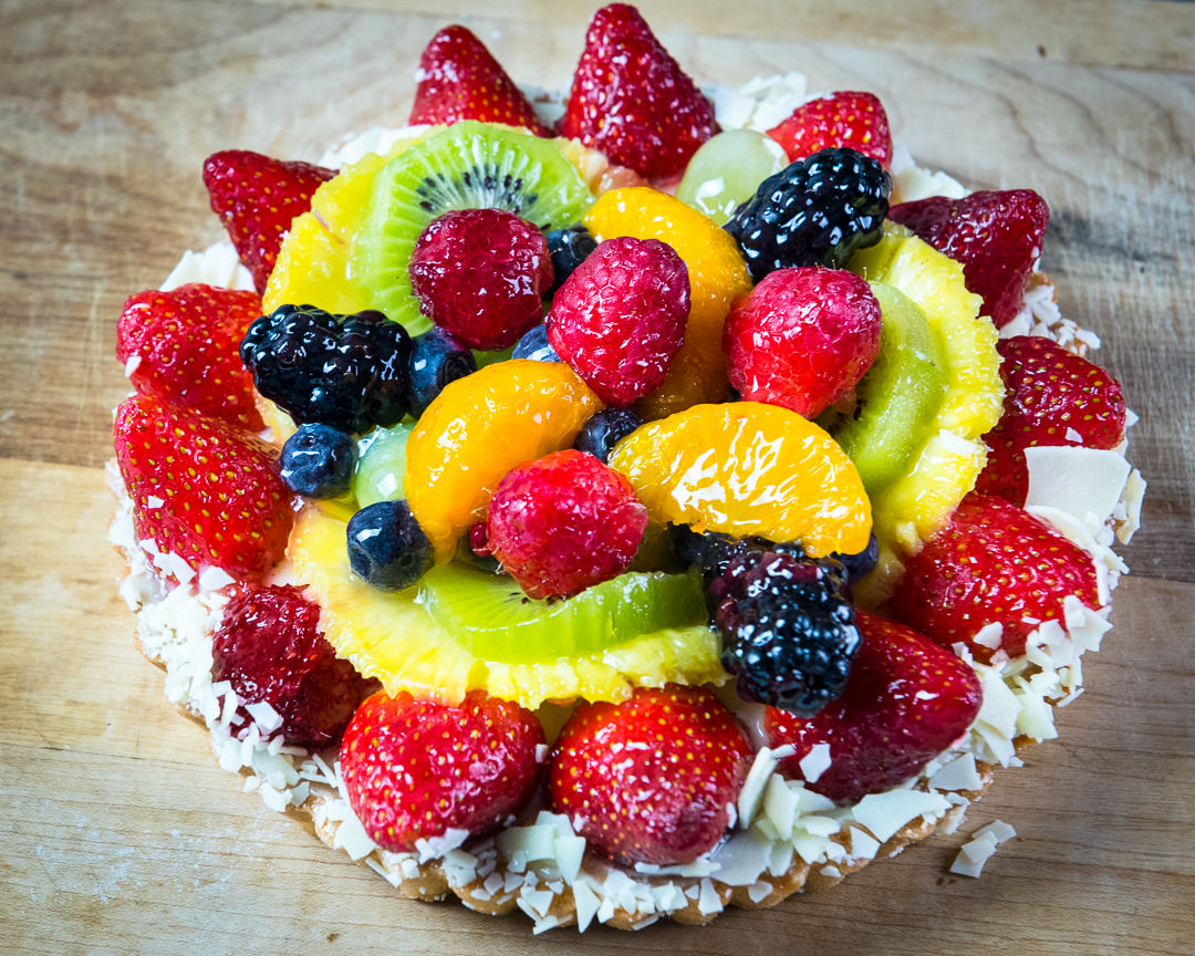 Fruit Tart, Food Photography Workshop